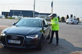 Şoferul unui Audi a fost prins cu 157 km / oră pe Calea Borşului, în Oradea. Amenzi de peste 110.000 lei pentru viteză într-o singură zi (FOTO / VIDEO)