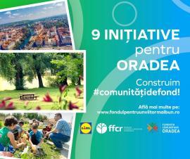Fundația Comunitară Oradea și Lidlfinanțează 9 proiecte locale de mediu și educație