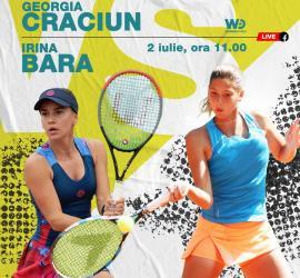Irina Bara deschide, joi, turneul de tenis Winners Open de la Cluj. Competiţia va fi transmisă online