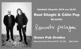 """O seară specială în Ajun de Florii: """"Romantici pasageri"""", cu Călin Pop şi Raul Silaghi (VIDEO)"""