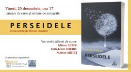 """După trei romane, tânărul """"Familist"""" Mircea Pricăjan lansează """"Perseidele"""", o carte de proză scurtă"""