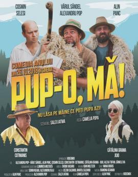 """""""Pup-o, mă!"""". Comedia românească a anului va avea joi proiecţia de gală la Oradea"""