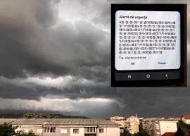Chineza lui Arafat: Mulţi orădeni au fost alertați de sistemul RO-ALERT în… chineză