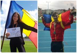 Două medalii de argint pentru atleţii orădeni la întrecerile Campionatului Balcanic pentru juniori I din Turcia