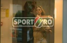 Scene şocante: Antrenorul Dan Alexa a încasat un pumn de la impresara Anamaria Prodan, în faţa camerelor de filmare (VIDEO)