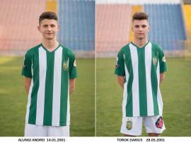 Fotbal: CAO Oradea dă doi jucători la acţiunea lotului naţional de juniori U18 de la Cluj