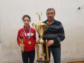 Andreea Muntean a obţinut medalia de aur la etapa a IV-a a Circuitului Internaţional de spadă 'Olimpicii'