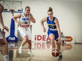 Orădeanca Anisia Croitoru, convocată din nou la naţionala de baschet U16 a României