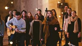 'Chemat la lumină': Ansamblul Sanctus Pro Deo, format din 70 de persoane, aduce un concert de 'muzică spirituală' la Oradea (VIDEO)
