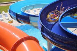Noi puncte de alimentație în Aquaparkul Nymphaea Oradea (FOTO)