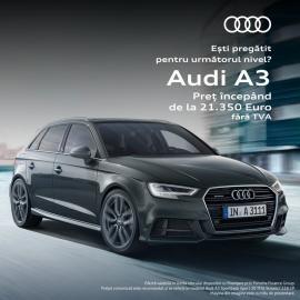 Ofertă exclusivă pentru Audi A3 Sportback