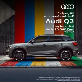 Alege oferta Audi Q2, alege Audi Q2 - perfect pentru jungla urbană!