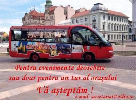 OTL închiriază autobuzul turistic al oraşului