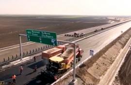 Cum arată secţiunea Biharia-Borş a Autostrăzii Transilvania. E gata în proporţie de 84% (VIDEO)