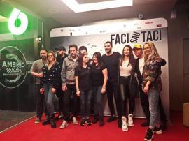 Sandra Izbaşa, Augustin Viziru şi alţi protagonişti ai noii comedii poliţiste 'Faci sau taci' s-au întâlnit şi fotografiat cu fanii orădeni (FOTO / VIDEO)