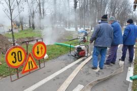 Avarie de proporţii! Trei cartiere din Oradea au rămas fără căldură şi apă caldă (FOTO / VIDEO)