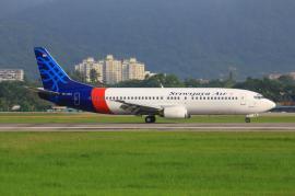 Avion Boeing B737-500, prăbușit în Indonezia. Printre pasageri erau și copii, inclusiv bebeluși (VIDEO)