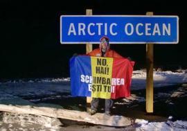 Performanţă la extrem: Avram Iancu, locul 3 la ultramaratonul '6633 Arctic Ultra', de la Cercul Polar de Nord