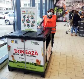 Vrei să faci o faptă bună de Paşte? Banca pentru Alimente Oradea face colectă de alimente, în cinci magazine Lidl