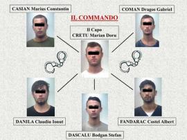 Jaf de 20.000 de euro! Bandă de români, prinşi de carabinieri, după o urmărire de 12 ore, pe autostradă în Italia