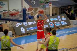 Baschet: CSM CSU Oradea s-a impus mai greu decât s-ar fi aşteptat în jocul cu Athletic Constanţa (FOTO / VIDEO)