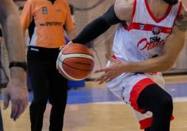 Baschet: 'Roş-albaştrii' au cedat primul joc al anului: 74-79 cu CSO Voluntari