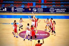 Victorie pentru BCU Oradea în faţa campioanei U16 de la baschet feminin