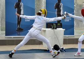 Bianca Benea, la etapa a II-a a Cupei Mondiale la spadă juniori feminin