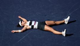 La 18 ani, Bianca Andreescu a câştigat turneul Indian Wells şi le-a mulţumit fanilor români (VIDEO)