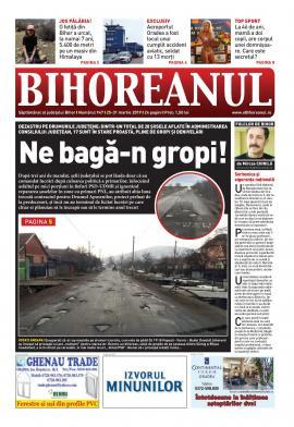 Nu ratați noul BIHOREANUL tipărit: Dezastru pe drumurile judeţene. Mai bine de jumătate din șoselele administrate de CJ Bihor sunt pline de gropi