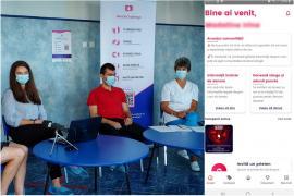 Trei tineri orădeni au lansat aplicaţia BlooDoChallenge,pentru a promova donarea de sânge (VIDEO)