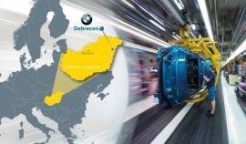 Nemţii ezită să extindă producția auto în Ungaria. Lucrările la fabrica BMW de la Debrecen, amânate