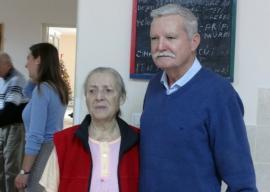 Ioan Bocşa le-a colindat și bunicilor din Centrul de pe strada Vămii (FOTO)