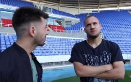 Mircea Bravo s-a dus în vizită la George Puşcaş, în Anglia. Fotbalistul orădean i-a spus că preferă româncele(VIDEO)