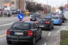 Plin de şantiere: Lucrările din Calea Aradului la noua linie de tramvai vor fi gata în aprilie, iar cele la Pasajul Magheru la finalul lunii iunie