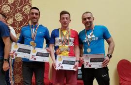 Şase medalii de aur şi argint pentru pompierii bihoreni, la campionatul de atletism şi cros