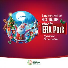 Moş Crăciun, Micuţa Fifi şi zeci de personaje de poveste sărbătoresc Crăciunul la ERA Park Oradea