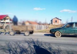 'Programul Rabla' a' la Tăuteu: Hoţii au furat maşina unui sătean cu căruţa, ca să o ducă la un centru de fier vechi