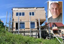 Casă cu căldură: Un fost viceprimar al Oradiei construieşte în oraş prima casă pasivă (FOTO)