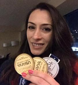 Gimnasta Cătălina Ponor, multiplă campioană olimpică, şi-a încheiat cariera