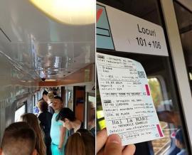 Cuc, te bagi? După ce CFR le-a vândut locuri inexistente, elevii orădeni îl provoacă pe ministrul Transporturilor să facă un drum Oradea-Iaşi cu trenul