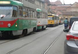 OTL, staţionări tramvaie în 28 februarie 2020