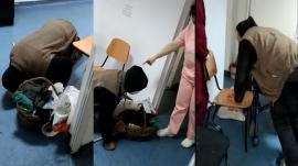 Un bătrân, lăsat să agonizeze pe holurile unui spital din județul Olt. Medicul de gardă a fost amendat cu 6.000 de lei (VIDEO)