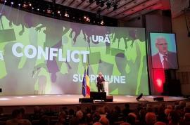 Dragnea la Congresul extraordinar al PSD: 'Statul paralel a infiltrat clasa politică şi societatea civilă' (VIDEO)