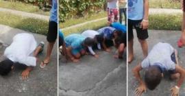 Festivalul Inimioarelor... Umilite! Copii puşi să facă mătănii şi să sărute asfaltul, la o tabără în Sălaj (VIDEO)