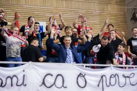 Victorie pentru echipa de baschet CSM CSU Oradea, la împlinirea a 10 ani de când Cristian Achim e antrenorul orădenilor (FOTO)
