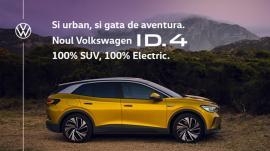 Vino să cunoşti SUV-ul 100% electric de la Volkswagen - ID.4 - în showroom-ul D&C Oradea!
