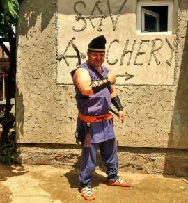 Un bihorean este unicul meşter de arcuri dacice din România. Află-i povestea! (FOTO)