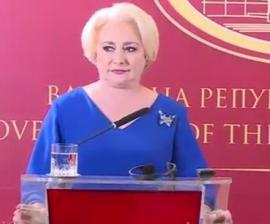 Viorica Dăncilă a comis-o din nou: Într-o vizită oficială la Skopje a spus în mod repetat 'macedoni' în loc de 'macedoneni'