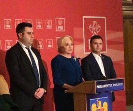 """Daniel Suciu şi Răzvan Cuc, propunerile PSD de noi miniştri. """"Trebuie acceptaţi de Iohannis"""", spun Dragnea şi Dăncilă"""